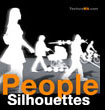 People Silhouettes- Personnages Silhouettes